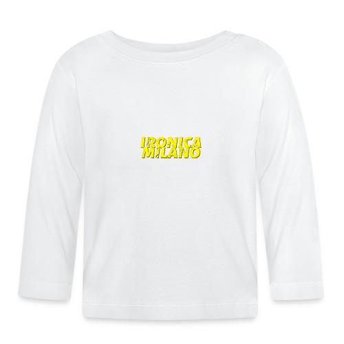 Ironica Milano - Maglietta a manica lunga per bambini