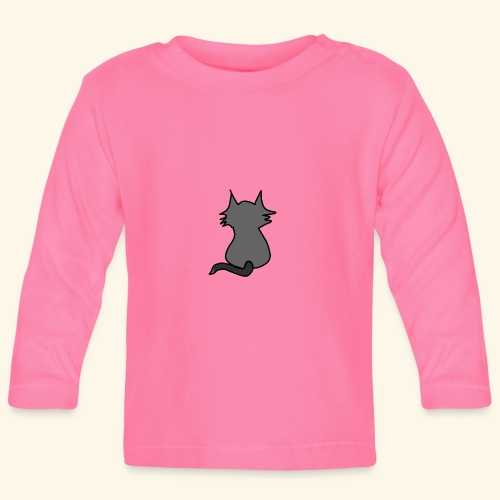 Coole Katze - Baby Langarmshirt