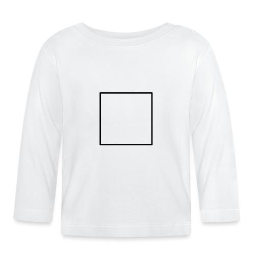 Square t shirt black - T-shirt