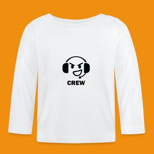 T-shirt-front - Langærmet babyshirt