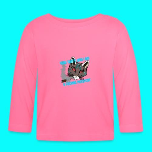 FUCKING PUSSYCAT VÄSKA - Långärmad T-shirt baby