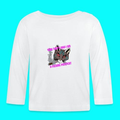FUCKING PUSSYCAT T-SHIRT - Långärmad T-shirt baby
