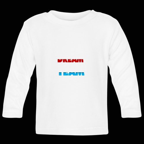 DreamTeam - Langærmet babyshirt