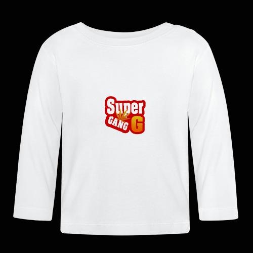 SuperG-Gang - Langærmet babyshirt