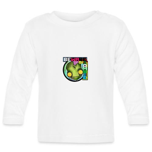Beware of zombie - Camiseta manga larga bebé