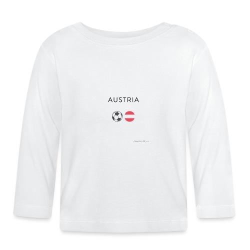 Austria Fußball - Baby Langarmshirt