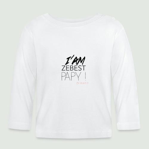 iamezbestpapy - T-shirt manches longues Bébé
