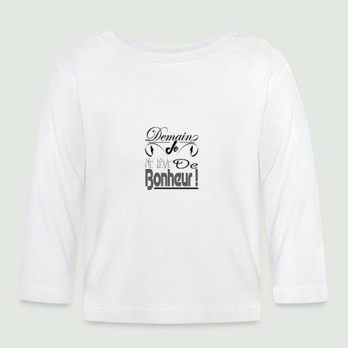 bonheur demain - T-shirt manches longues Bébé