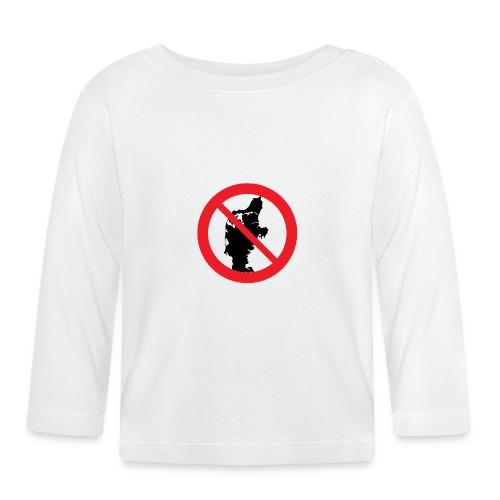 Badge - Jylland forbudt - Langærmet babyshirt