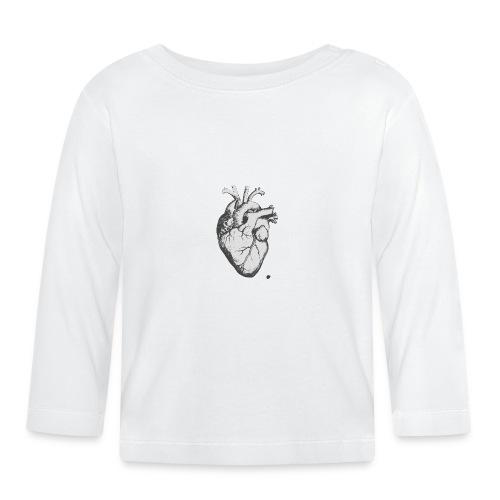 coeurhumain - T-shirt manches longues Bébé