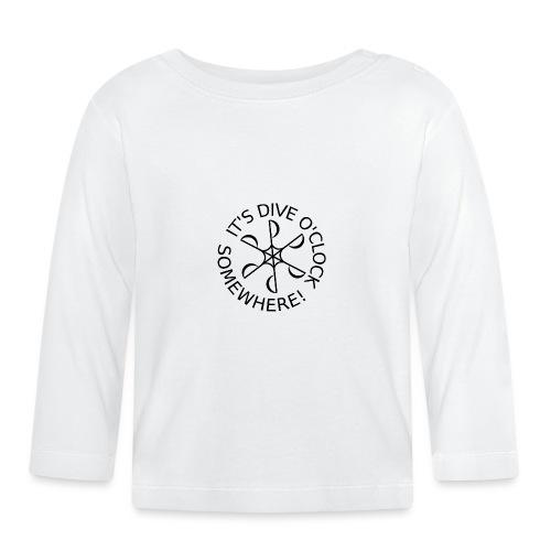 Dive o clock Black - Baby Long Sleeve T-Shirt