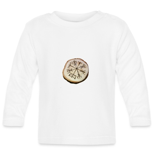 VHEH - Vegvísir - Baby Long Sleeve T-Shirt
