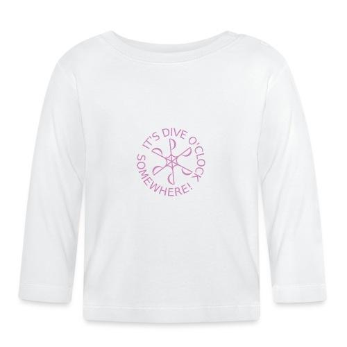 Dive o clock Pink - Baby Long Sleeve T-Shirt