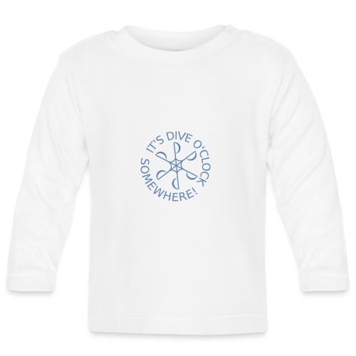 Dive o clock Light Blue - Baby Long Sleeve T-Shirt
