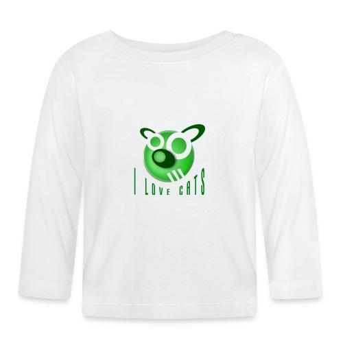 I Love Cats - Baby Long Sleeve T-Shirt