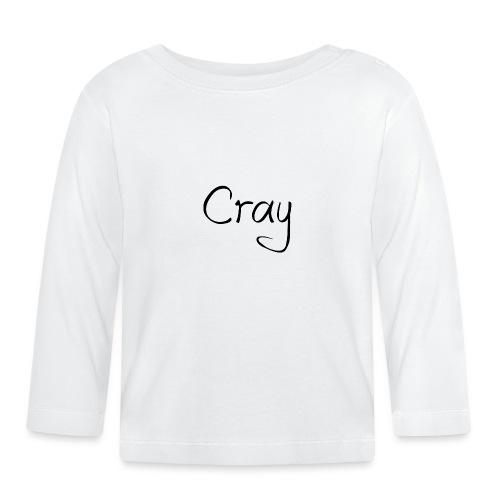 Cray Black Schrifft - Baby Langarmshirt