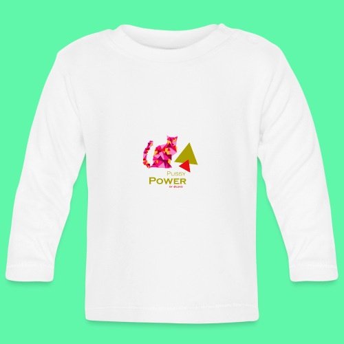 Pussy Power - Langærmet babyshirt