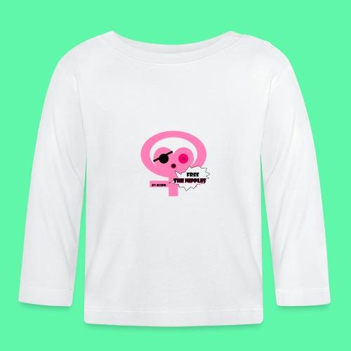 Free the nipples - Langærmet babyshirt