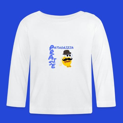 PraisePathorizia - Maglietta a manica lunga per bambini