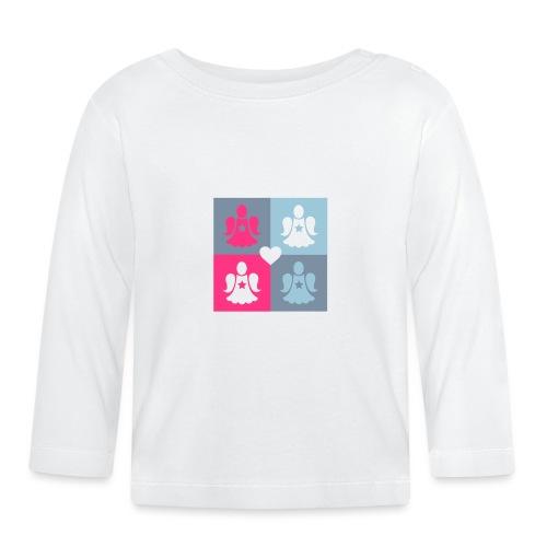 Housse de coussin Déclinaison d'anges gardiens - Baby Long Sleeve T-Shirt