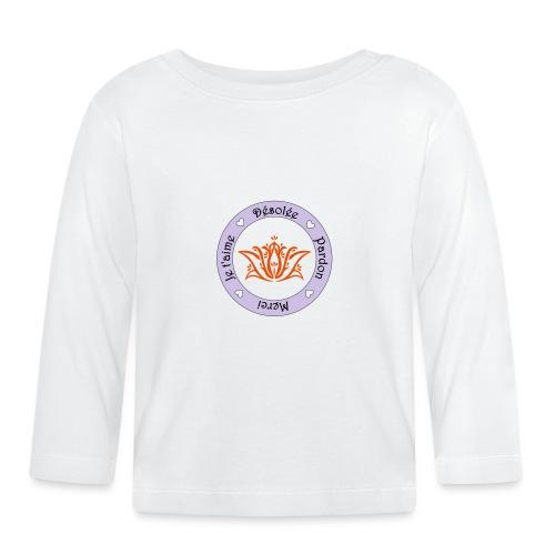 Tee shirt Bio Femme Ho oponopono - Baby Long Sleeve T-Shirt