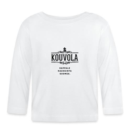 Kouvola - Kappale kauheinta Suomea. - Vauvan pitkähihainen paita
