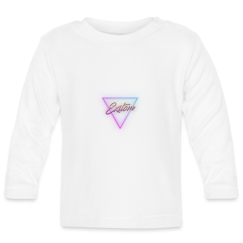 Exitom LOGO Black Women's T-Shirt - Baby Long Sleeve T-Shirt