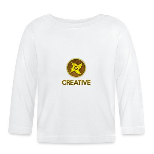 Creative logo shirt - Langærmet babyshirt