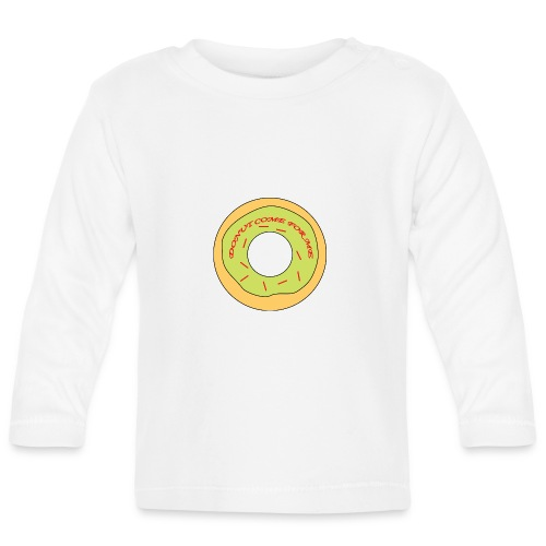 Donut Come For Me Red - Baby Long Sleeve T-Shirt