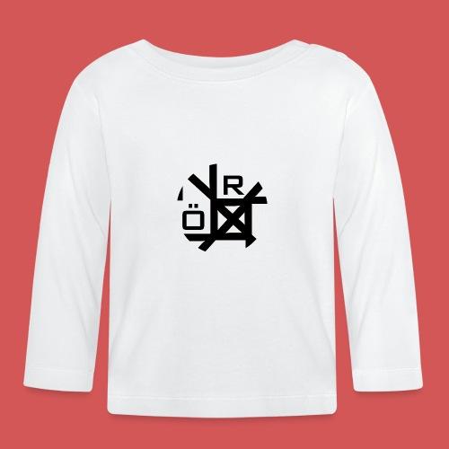 Nörthstat Group™ TecH | iCon - WHT.Knapsack - Baby Long Sleeve T-Shirt