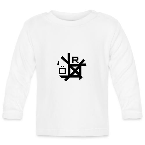 Nörthstat Group™ TecH | iCon - WHT.Knapsack - Baby Long Sleeve T-Shirt