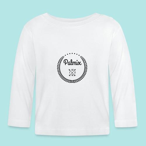 Palmix_wish V-neck - Baby Long Sleeve T-Shirt