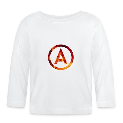 Fire T-shirt - Koszulka niemowlęca z długim rękawem
