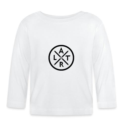 Wheel Hoodie White - Koszulka niemowlęca z długim rękawem