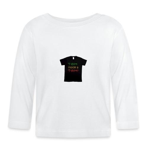 mars-one-drawing-tshirt-black - Langærmet babyshirt