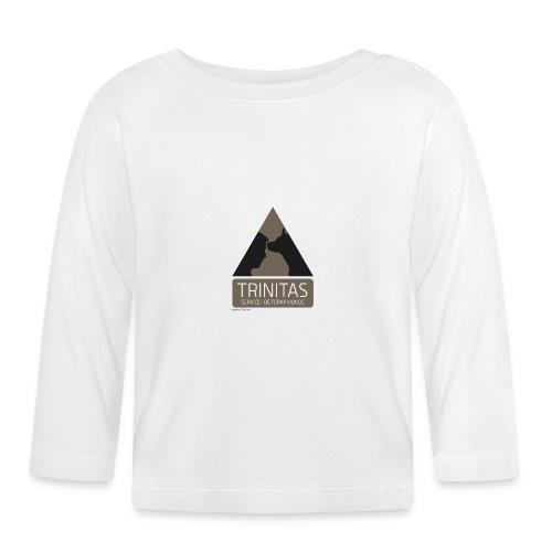 Trinitas forklæde - Langærmet babyshirt