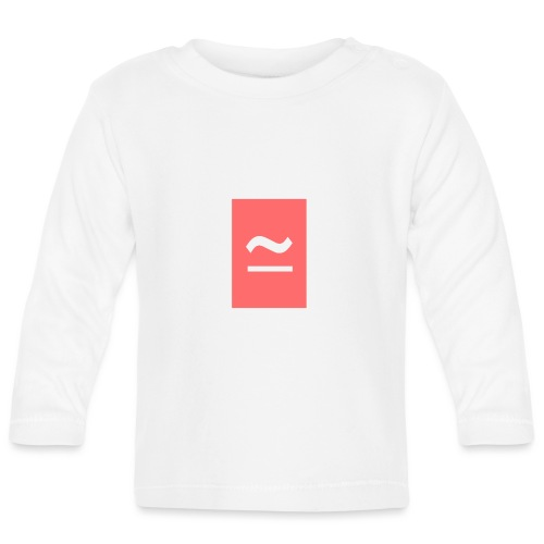 The Commercial Logo (Salmon Pink) - Baby Long Sleeve T-Shirt