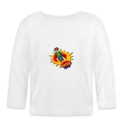 kleiner Superheld - Baby Langarmshirt