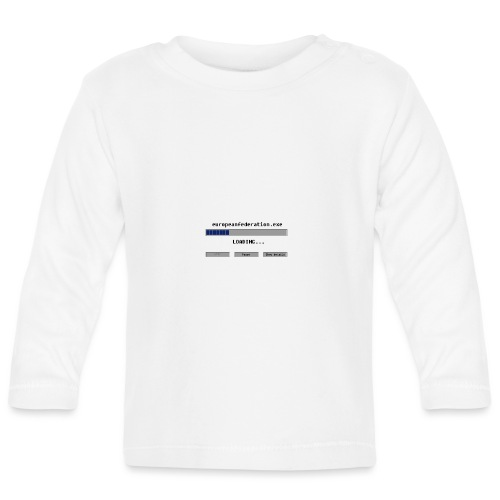 europeanfederation.exe - Baby Long Sleeve T-Shirt
