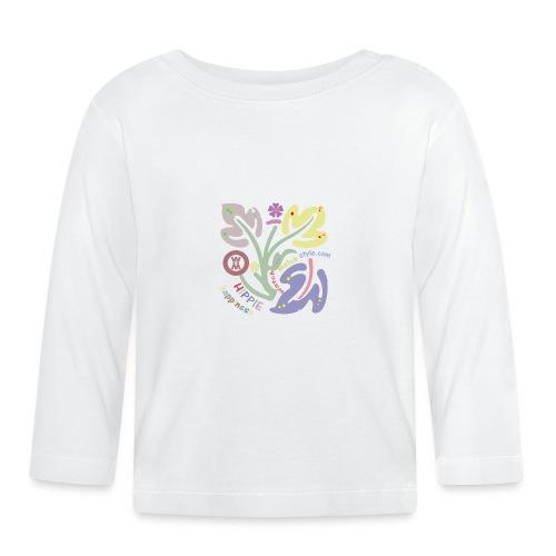 HIPPIES DESIGN - Maglietta a manica lunga per bambini