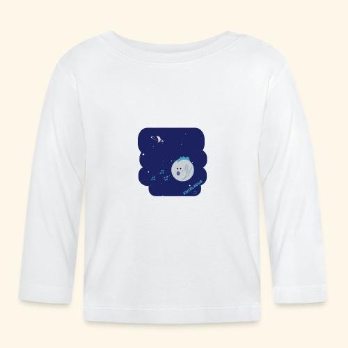 Enceladus punk rock moon of Saturn - Långärmad T-shirt baby