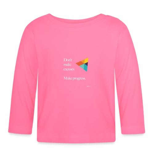 Dont Make Excuses T Shirt - Baby Long Sleeve T-Shirt