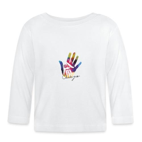 logo_signatur - Langarmet baby-T-skjorte