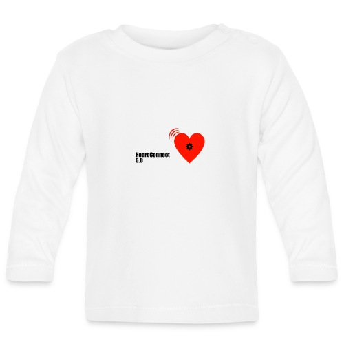 heart_connect_6-0 - Baby Langarmshirt
