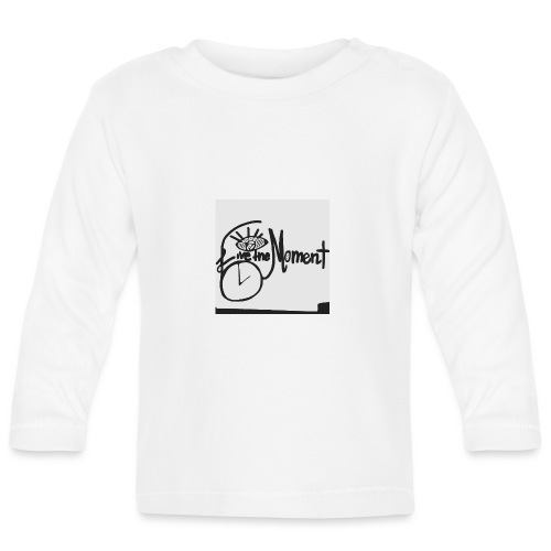 live the moment - Baby Langarmshirt