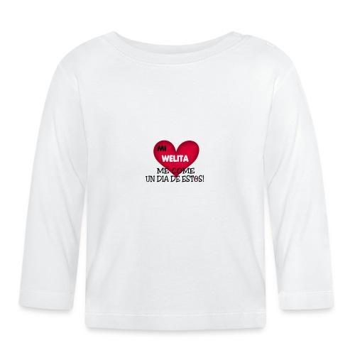 MI_WELITA_ME_COME_UN_DIA_DESTOs - Camiseta manga larga bebé