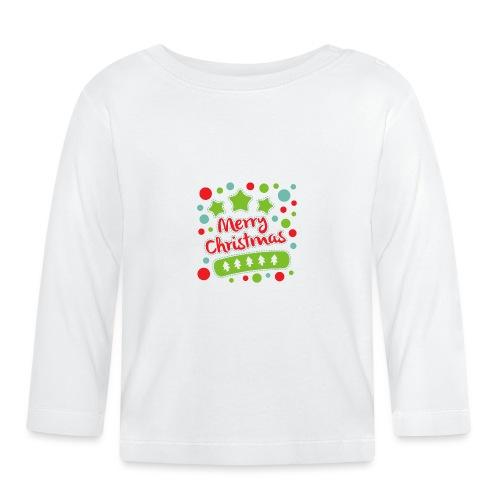 Merry Christmas - Baby Long Sleeve T-Shirt