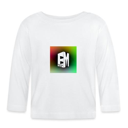 ElectroMetal_Logo - Baby Long Sleeve T-Shirt