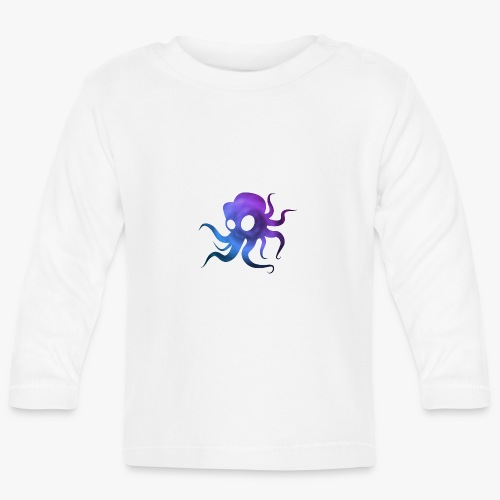 Space Squid - Langærmet babyshirt