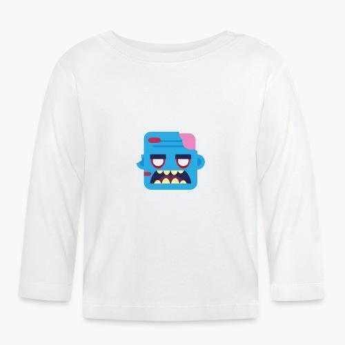Mini Monsters - Zombob - Langærmet babyshirt